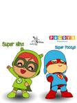 Super Nina and Super Pocoyo | Pocoyo