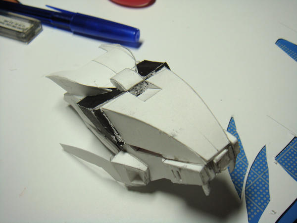 My zoid papercraft design3 by Loone-Wolf