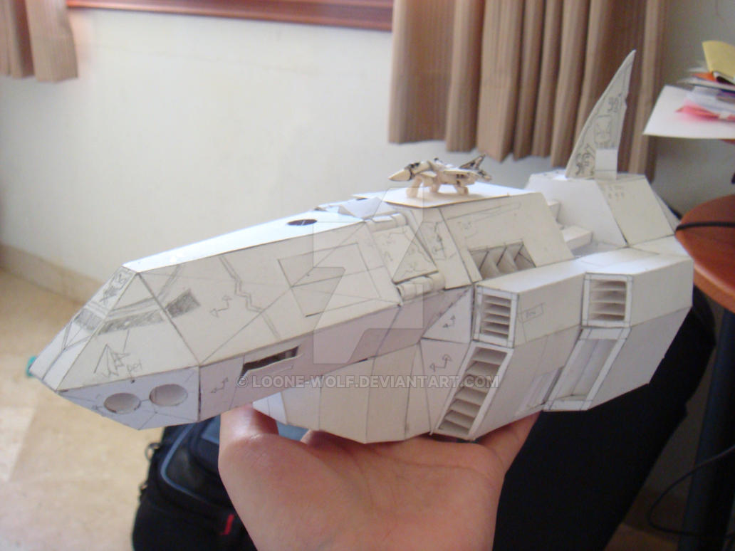 Silberon papercraft 1 by Loone-Wolf