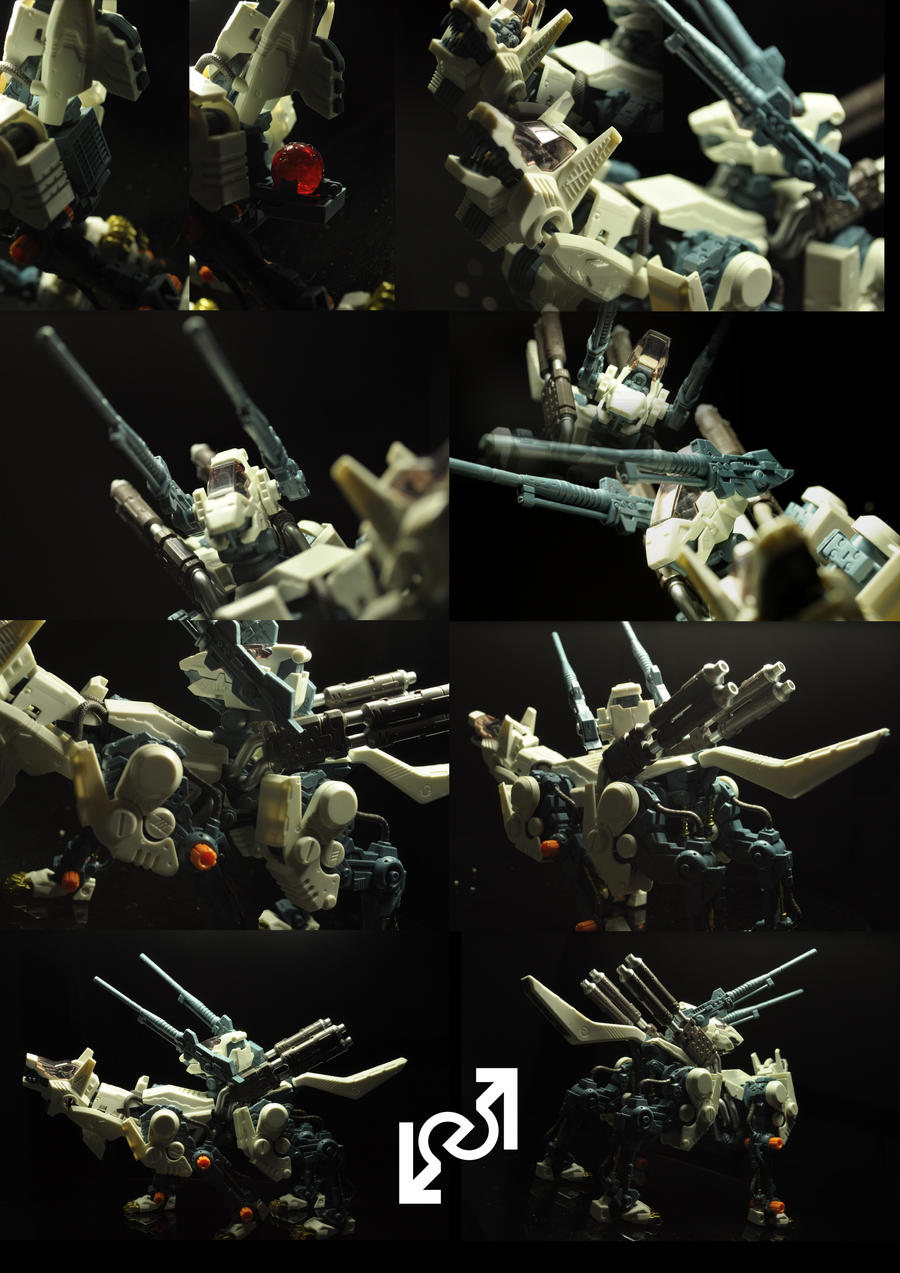 Command Wolf Kotobukiya by Loone-Wolf