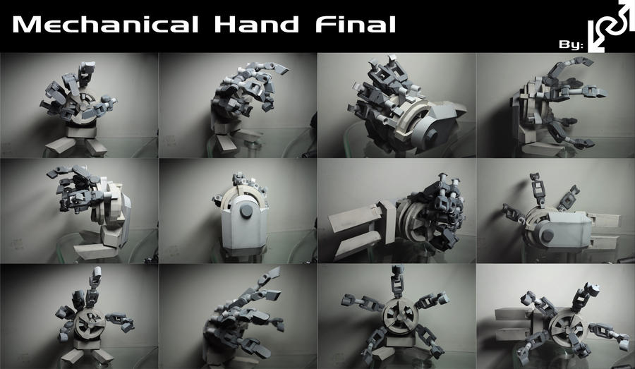 Mechanical Hand Final by Loone-Wolf