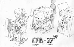 Factory Robot by Loone-Wolf