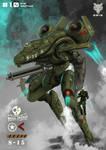 Mecha Weekly #010 M-10 Warthug