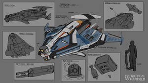 Recon Drone Rough concept by Loone-Wolf