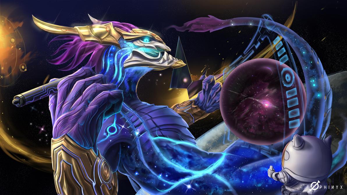 Good Enough? (Aurelion Sol-League of Legends) by Loone-Wolf
