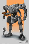 Tactical Warfield - Combat mech