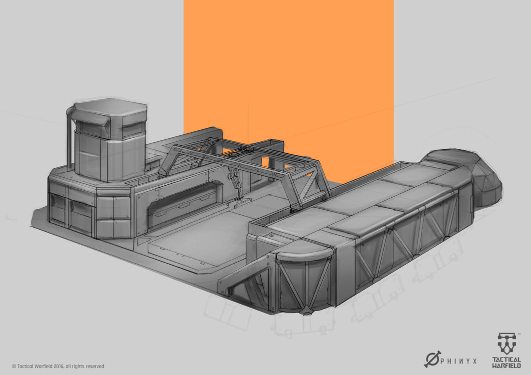 Tactical Warfield - Outpost by Loone-Wolf
