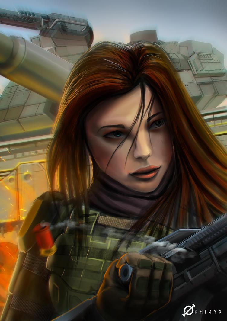 Lt. Kareen by Loone-Wolf