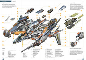 Cloudburst Prototype Exploded View by Loone-Wolf