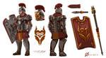 New Roman Times - Spearmen