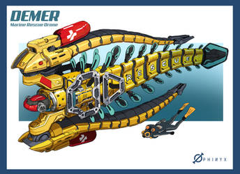 Demer Marine Rescue Drone by Loone-Wolf
