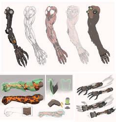 Commission: Cybernetic Arm