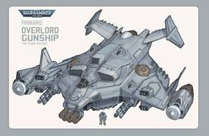 Warhammer 40k- Overlord Gunship