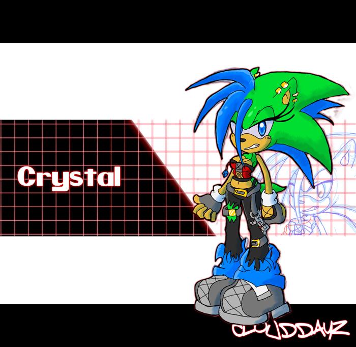 Yo crystal by CloudyDayz