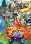 TF Earth Wars Dinobots and Gnaw