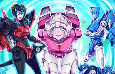 TFLegends Female Autobots by k-tack
