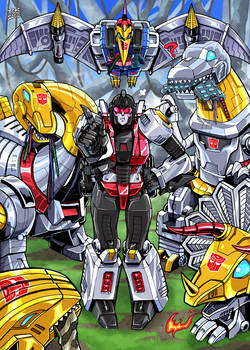 Dinobots New Sister Slash