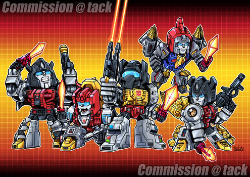 [Commission] SD Dinobots 2