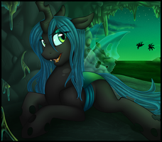 Queen Chrysalis by anuvia