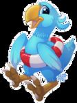 Castaway Chocobo Chick Says: by anuvia