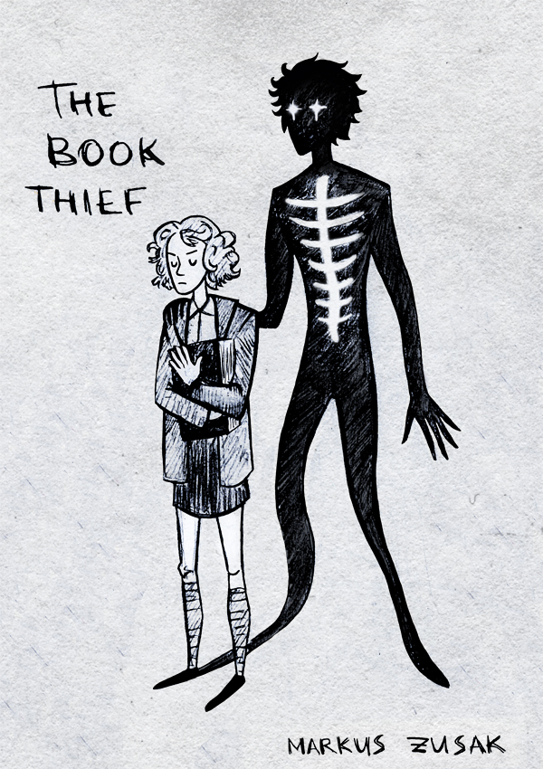 book thief by grrrenadine on  book thief by grrrenadine
