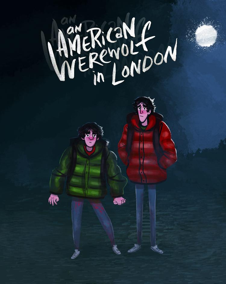An American Werewolf in London by Grrrenadine