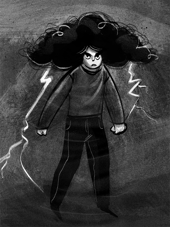 Stormgirl by Grrrenadine