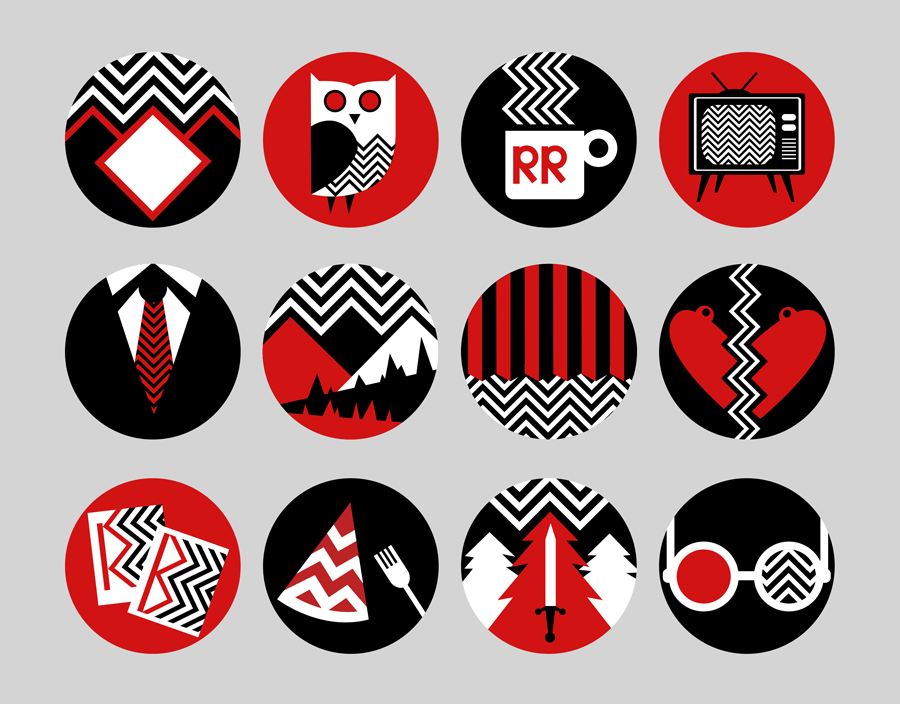 Twin Peaks Icons by Grrrenadine