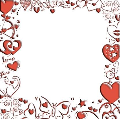 Valentines Day Border Clip Art