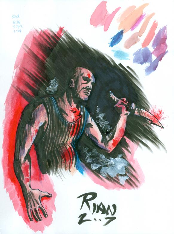 Watercolor Sketch by rianmiller