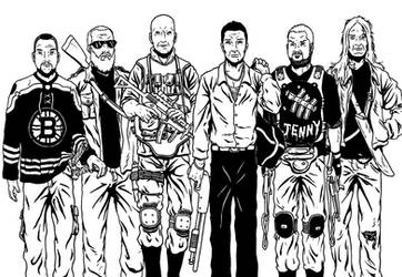 State Of The Badass Art Inked by rianmiller