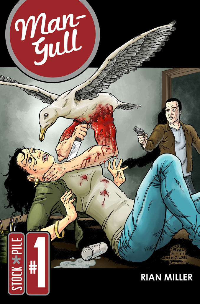 Man-Gull Issue 1 Cover Final by rianmiller