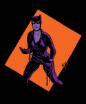SP Sketch 1 - Catwoman