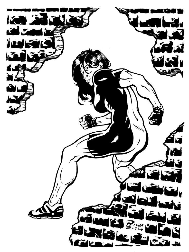 Art...Or Else! - She-Hulk by rianmiller