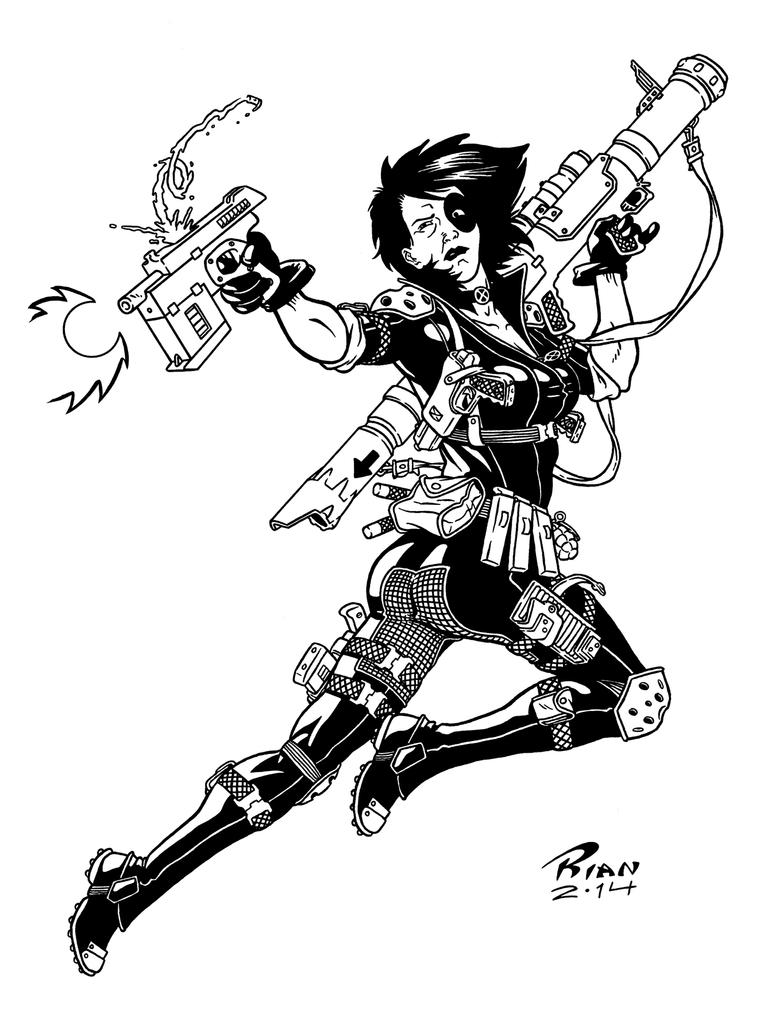 Art...Or Else! - Domino by rianmiller