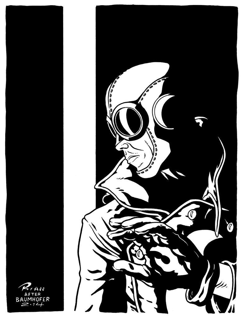 Art...Or Else! - Lobster Johnson by rianmiller
