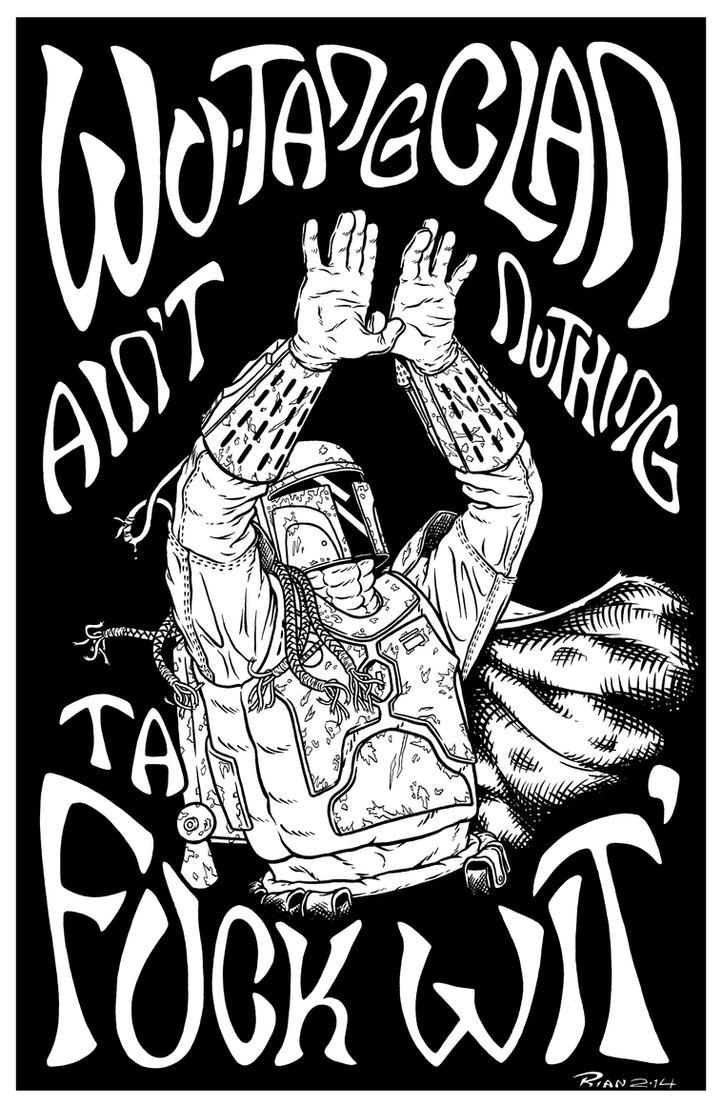 Wu Tang Boba Fett by rianmiller