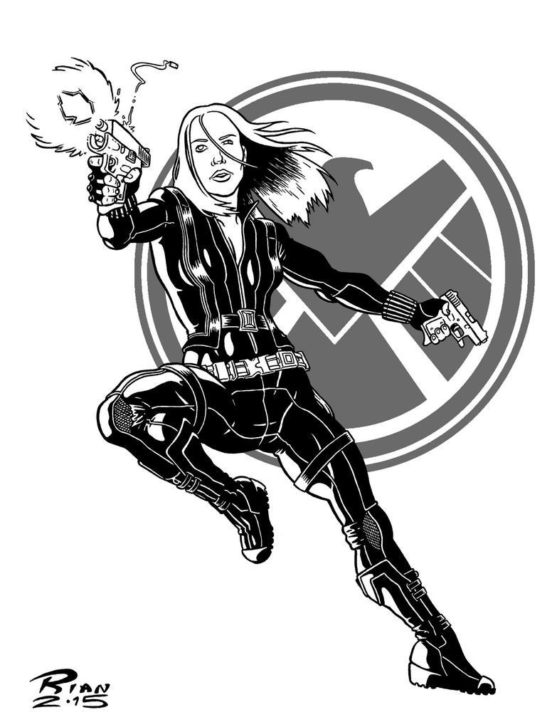 Art...Or Else! - Black Widow by rianmiller