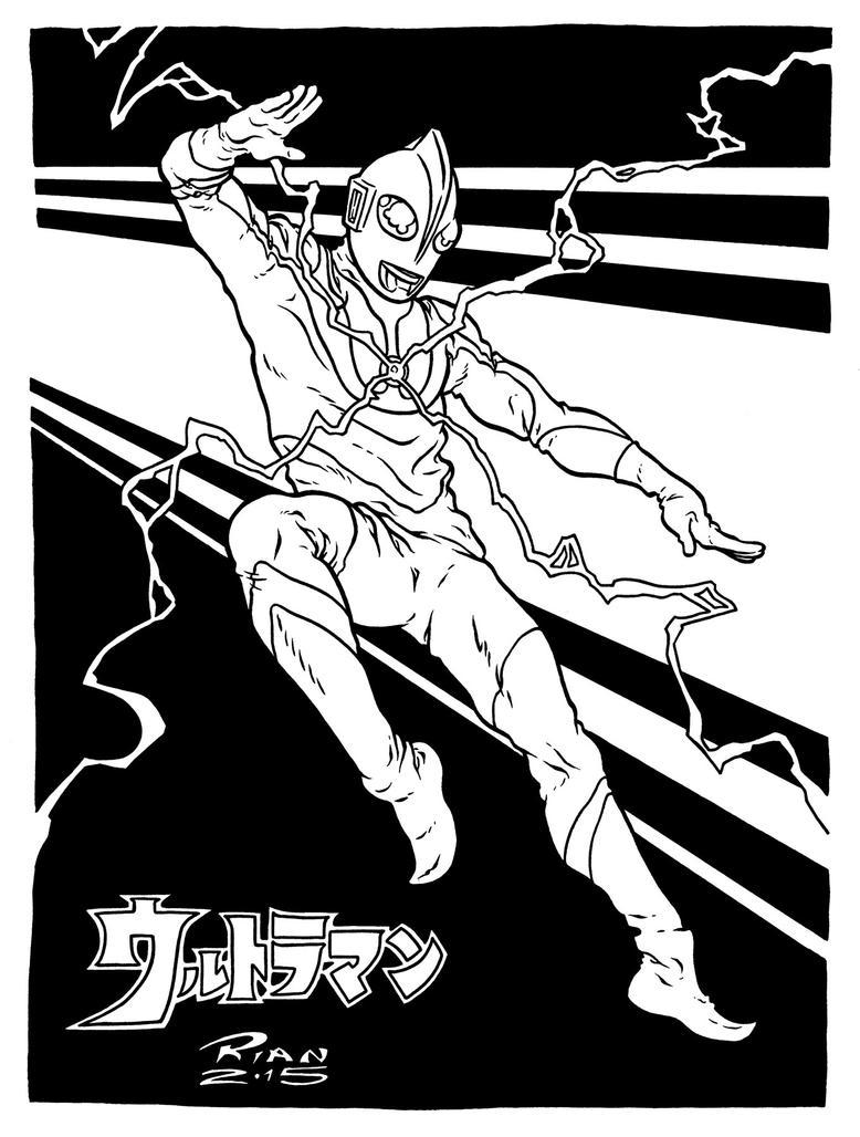 Art...Or Else! - Ultraman by rianmiller
