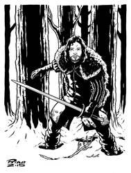 Art...Or Else! - Jon Snow by rianmiller