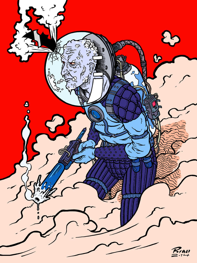 Mr. Freeze Colors by rianmiller