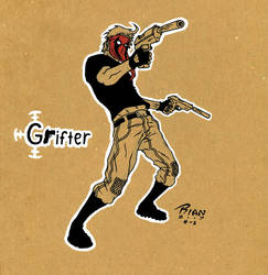 G is for Grifter by rianmiller