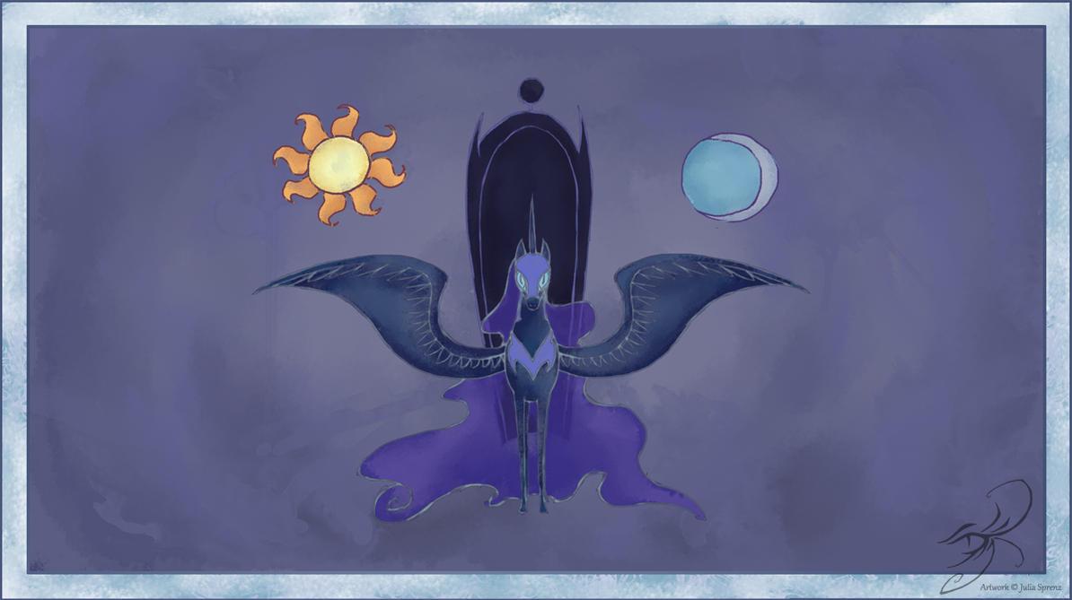 My Little Pony Nightmare Moon by kaizerin on DeviantArt