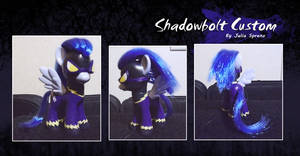 My Little Pony Shadowbolt Custom