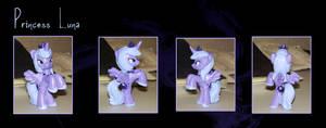 My Little Pony Princess Luna Blindbag Custom by kaizerin