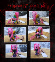 My Little Pony Cupcakes Pinkie Pie Custom by kaizerin