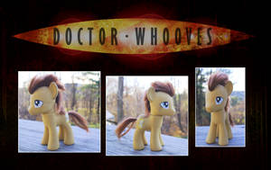 My Little Pony Dr. Whooves Pony Custom by kaizerin