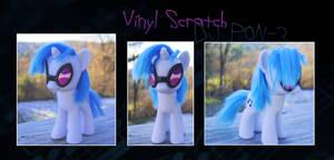 My Little Pony Vinyl Scratch DJ Pon-3 Custom