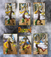 Discord Sculpture by kaizerin