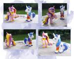 My Little Pony Blindbag Cadence and Shining Armor
